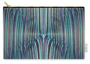 Falls Of Blue Carry-all Pouch
