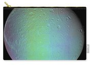 False Color View Of Saturns Moon Dione Carry-all Pouch
