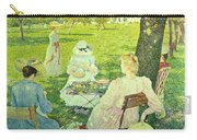 Family In The Orchard Carry-all Pouch