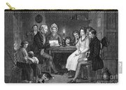 Family Reading, 1840 Carry-all Pouch