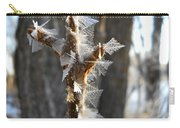 Fancy Fractal Frost Crystals Carry-all Pouch