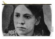 Fanny Jackson Coppin, African-american Carry-all Pouch