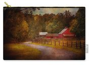 Farm - Barn - Rural Journeys  Carry-all Pouch by Mike Savad