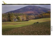 Farm By Ascutney Mountain Vermont Carry-all Pouch