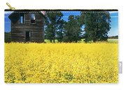 Farm House And Canola Field, Holland Carry-all Pouch