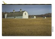 Farm Scene With White Barn Carry-all Pouch