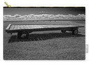 Farm Wagon In A Field On Prince Edward Island Carry-all Pouch