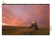 Farmer Harvesting Oat Crop Carry-all Pouch