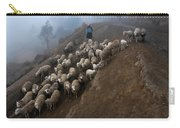 farmers bring their sheep to graze. Republic of Bolivia. Carry-all Pouch