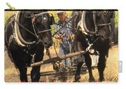 Farming Looks Easy Carry-all Pouch by Ian  MacDonald