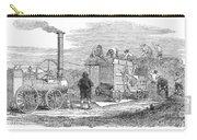 Farming: Threshing, 1851 Carry-all Pouch