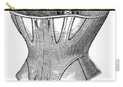 Fashion: Corset, 1869 Carry-all Pouch