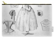 Fashion: Corset, C1850 Carry-all Pouch