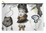 Fashion: Hats, C1875 Carry-all Pouch