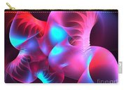 Feather Coral Carry-all Pouch