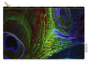 Feathers Of Hope. Blue Touch Carry-all Pouch