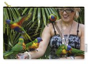 Feeding Rainbow Lorikeets Carry-all Pouch