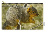 Feeding Tree Squirrel Carry-all Pouch