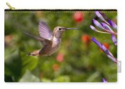 Female Allen's Hummingbird Carry-all Pouch
