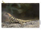 Female Desert Spiny Lizard  Carry-all Pouch