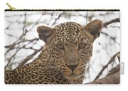 Female Leopard Close-up Carry-all Pouch
