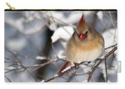 Female Northern Cardinal 4300 Carry-all Pouch