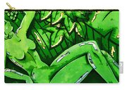 Female On A Mardi Gras Float Painted Carry-all Pouch