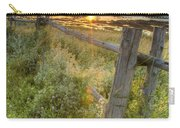 Fence Along The Shore Carry-all Pouch