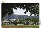 Fence At Appomattox Carry-all Pouch