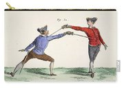 Fencing, 18th Century Carry-all Pouch
