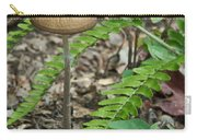 Fern Frond And Mushroom 5 Carry-all Pouch