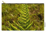Fern Frond And Sporangia 1 Carry-all Pouch
