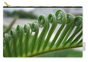 Fern Fronds Macro Carry-all Pouch
