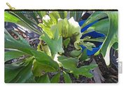 Fern With Blue Bucket Carry-all Pouch