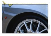 Ferrari Wheel And Emblems Carry-all Pouch