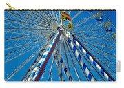 Ferris Wheel - Nuremberg  Carry-all Pouch by Juergen Weiss