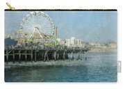Ferris Wheel On The Santa Monica Pier Carry-all Pouch