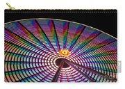 Ferris Wheel Rainbow Carry-all Pouch