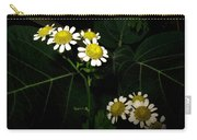 Feverfew In Bloom Carry-all Pouch