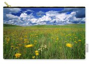 Field Of Flowers, Grasslands National Carry-all Pouch