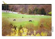 Field Of My Dreams Horses Carry-all Pouch