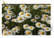 Field Of Oxeye Daisy Wildflowers Carry-all Pouch
