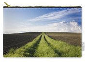 Field Path In Limagne. Auvergne. France. Europe Carry-all Pouch