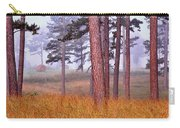 Field Pines And Fog In Shannon County Missouri Carry-all Pouch