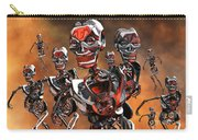 Fierce Androids Riot The City Of Tokyo Carry-all Pouch by Mark Stevenson