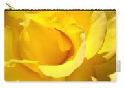Fine Art Prints Yellow Rose Flower Carry-all Pouch