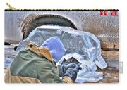 Fine Tuning Buffalo At Winter Fest Carry-all Pouch