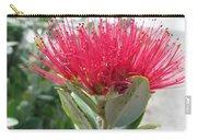 Fiore Rosso E Grasso Carry-all Pouch