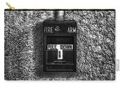 Fire Arm Pull Down Carry-all Pouch