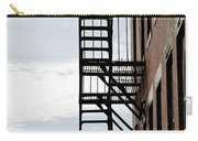 Fire Escape In Boston Carry-all Pouch